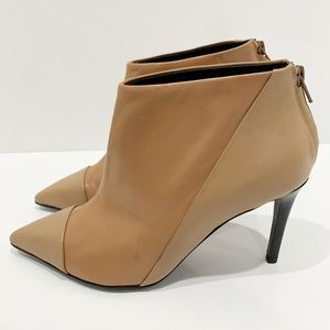 See by Chloe heeled pointed toe ankle boots sz 37